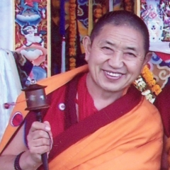 His Eminence Garchen  Rinpoche
